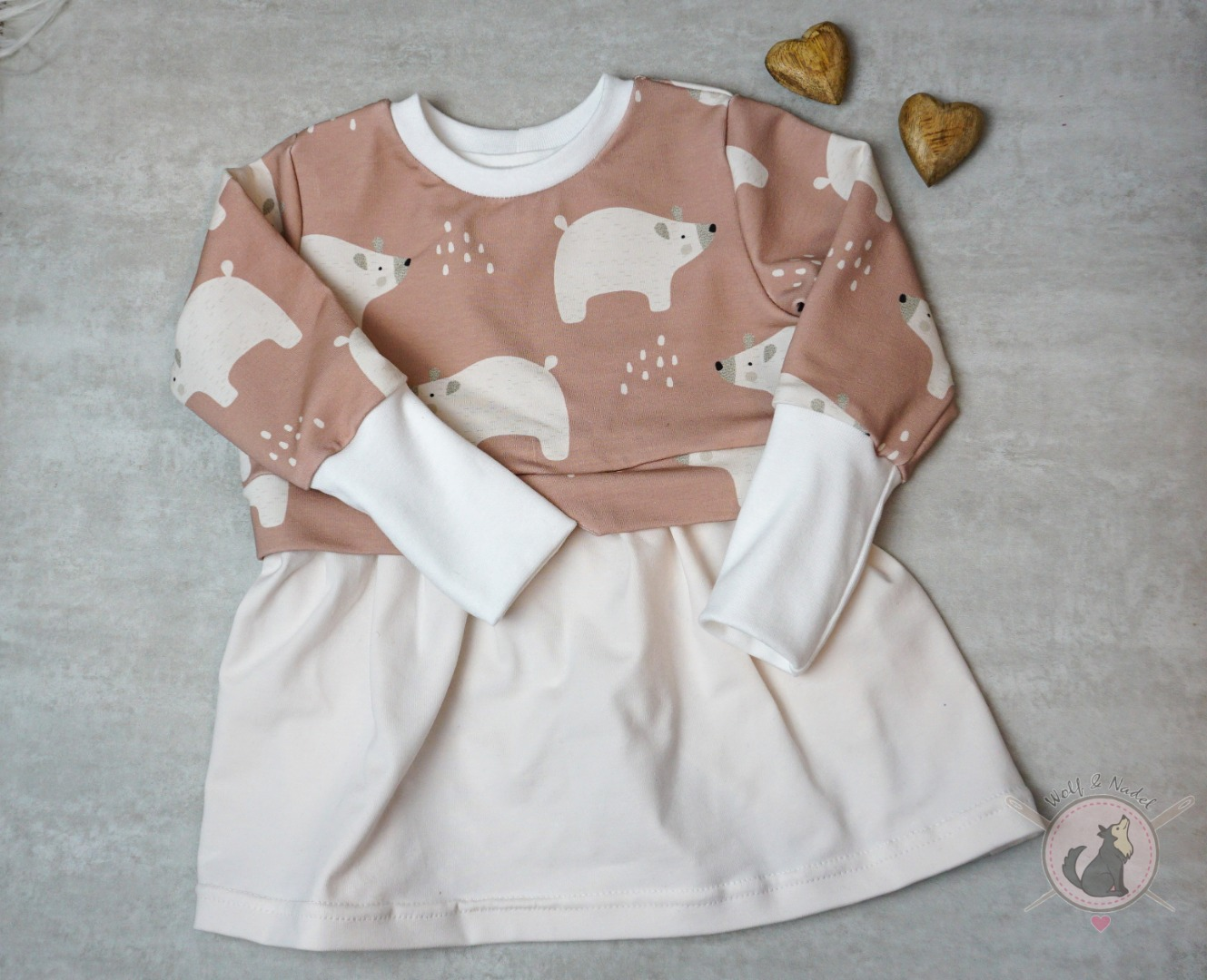 Sofortkauf Handmade Girlysweater Eisbär Gr 80