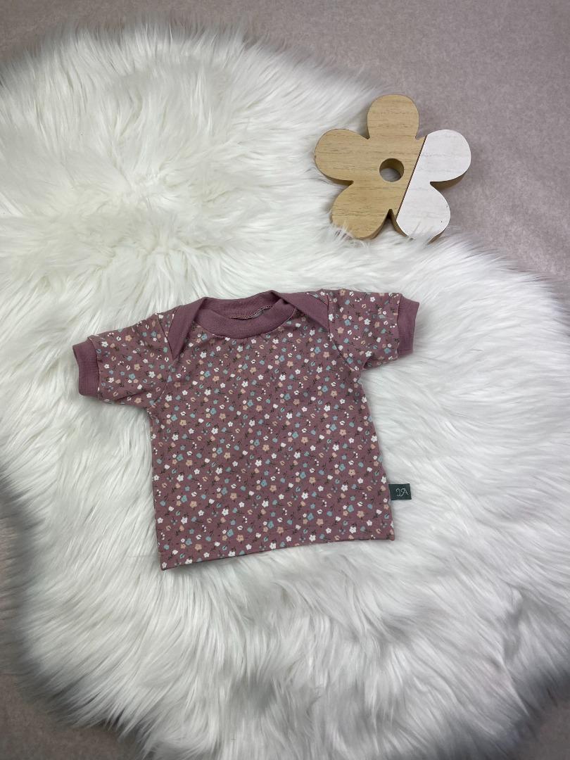 Bestellung Handmade Basicshirt aus Biojersey woodrose