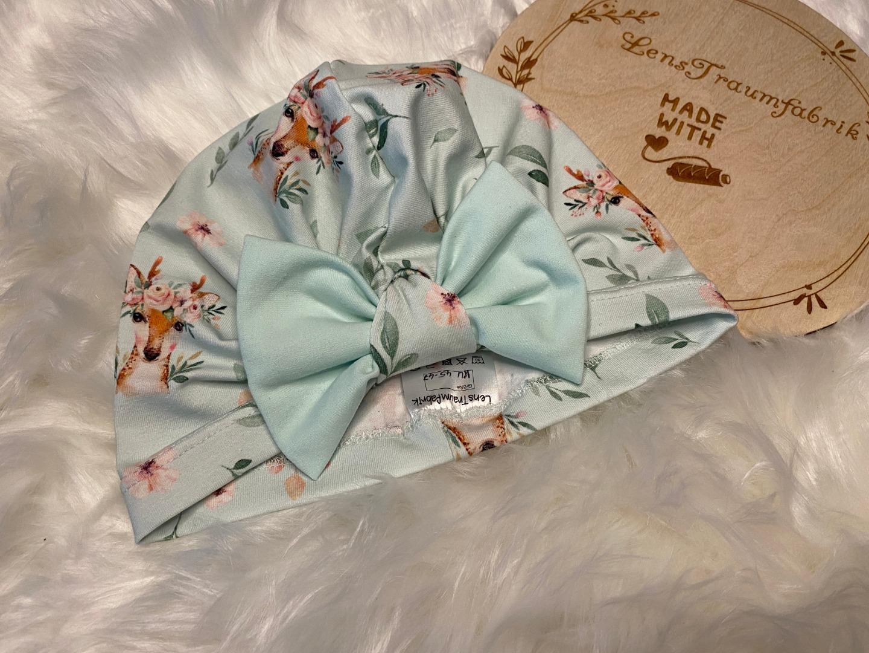 Sofortkauf Handmade Turbanmütze KU 45-47 cm