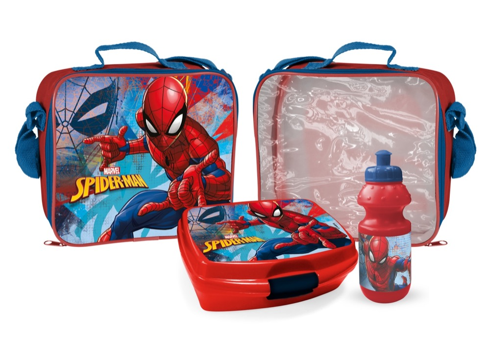 Spiderman 3 teiliges Lunchset