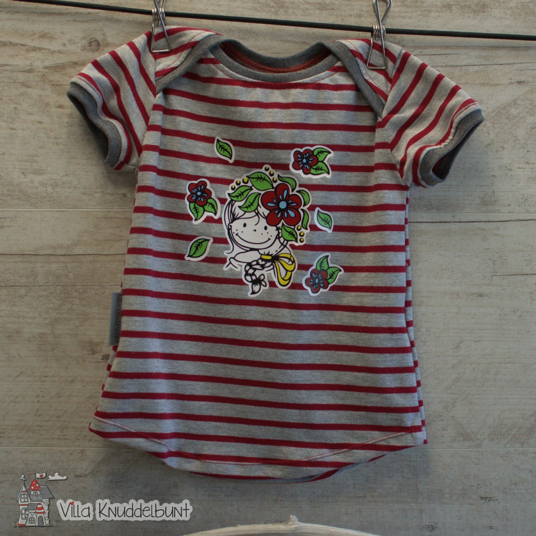 Sofortkauf Handmade Sommer T-Shirt Blumenmädchen für