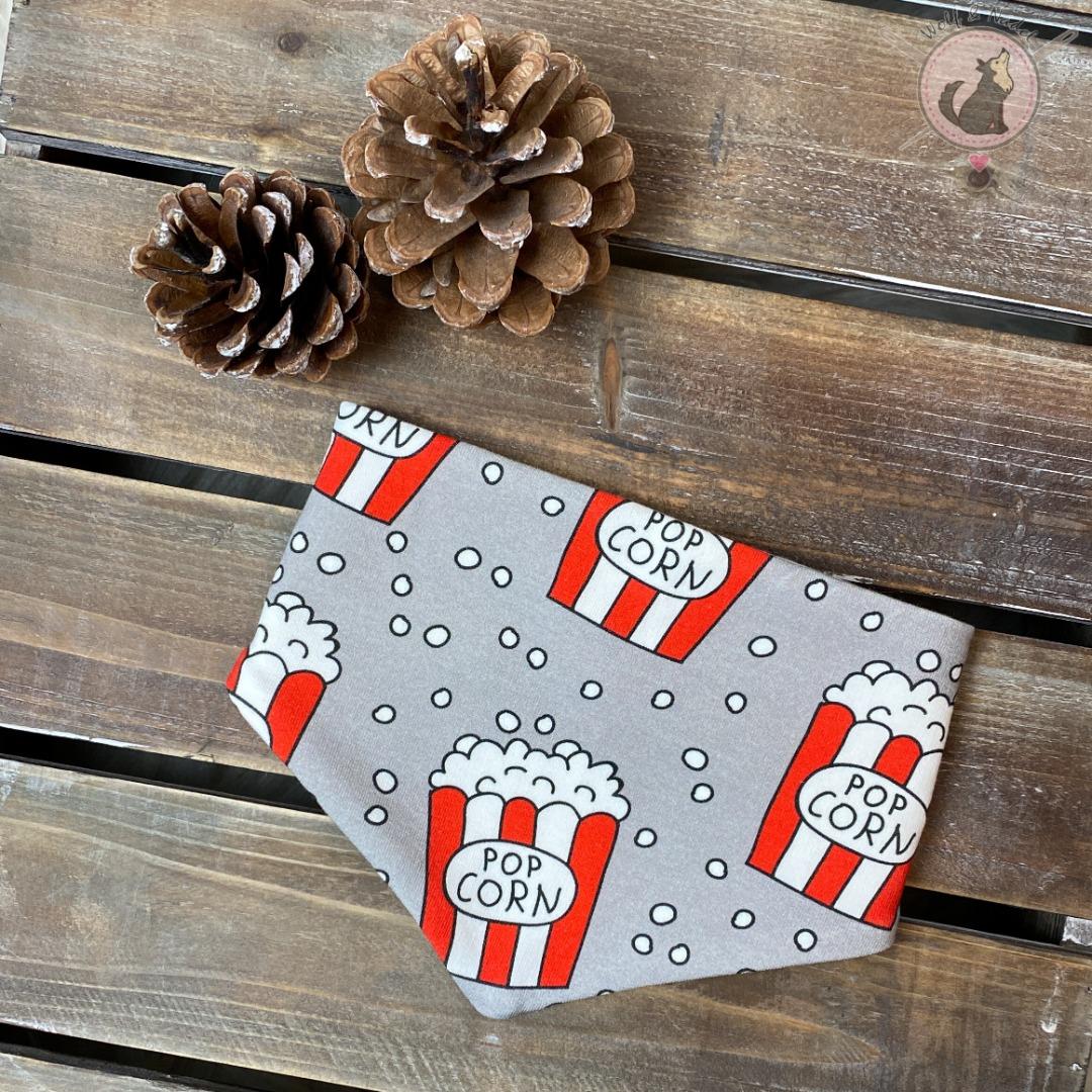 Sofortkauf Halstuch Popcorn grau Gr 0-18