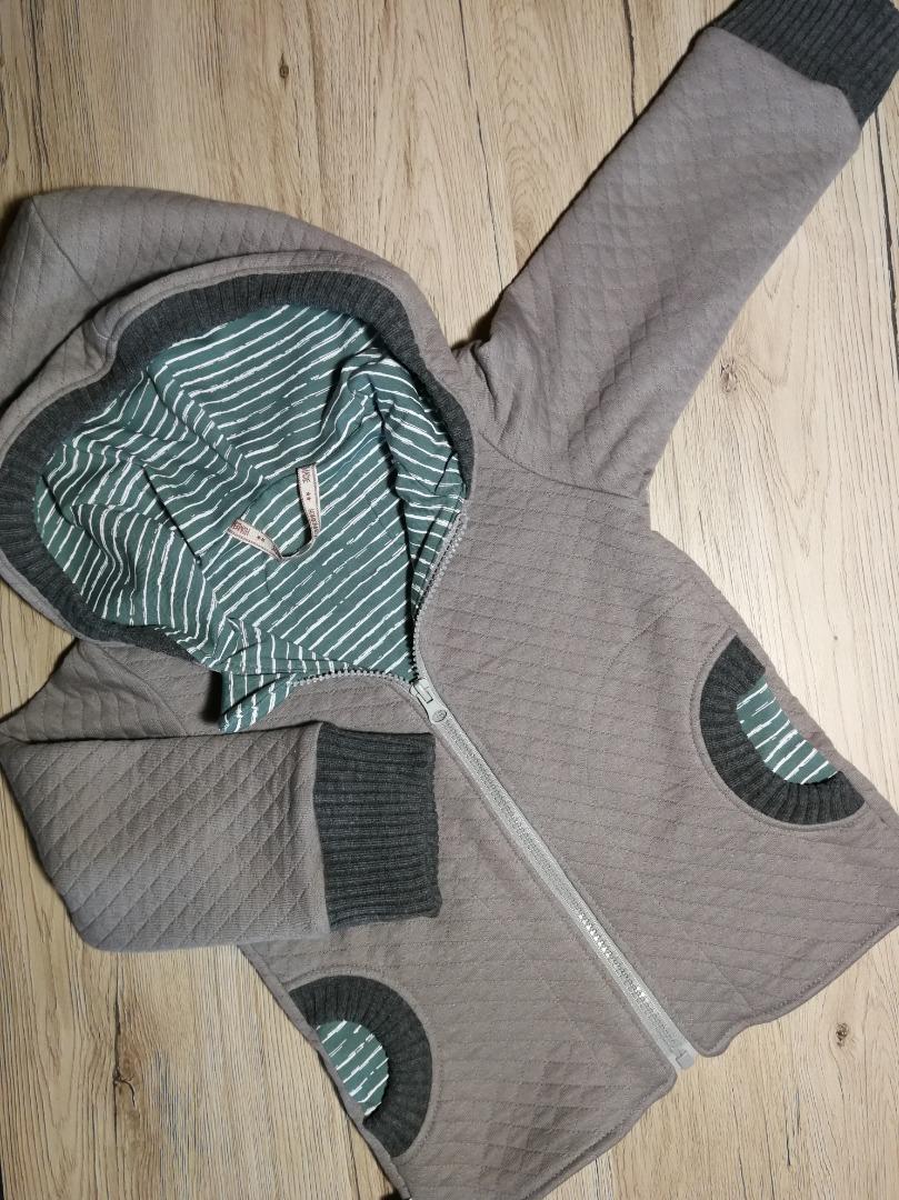 Sofortkauf Handmade Stepp Übergangsjacke Gr 92
