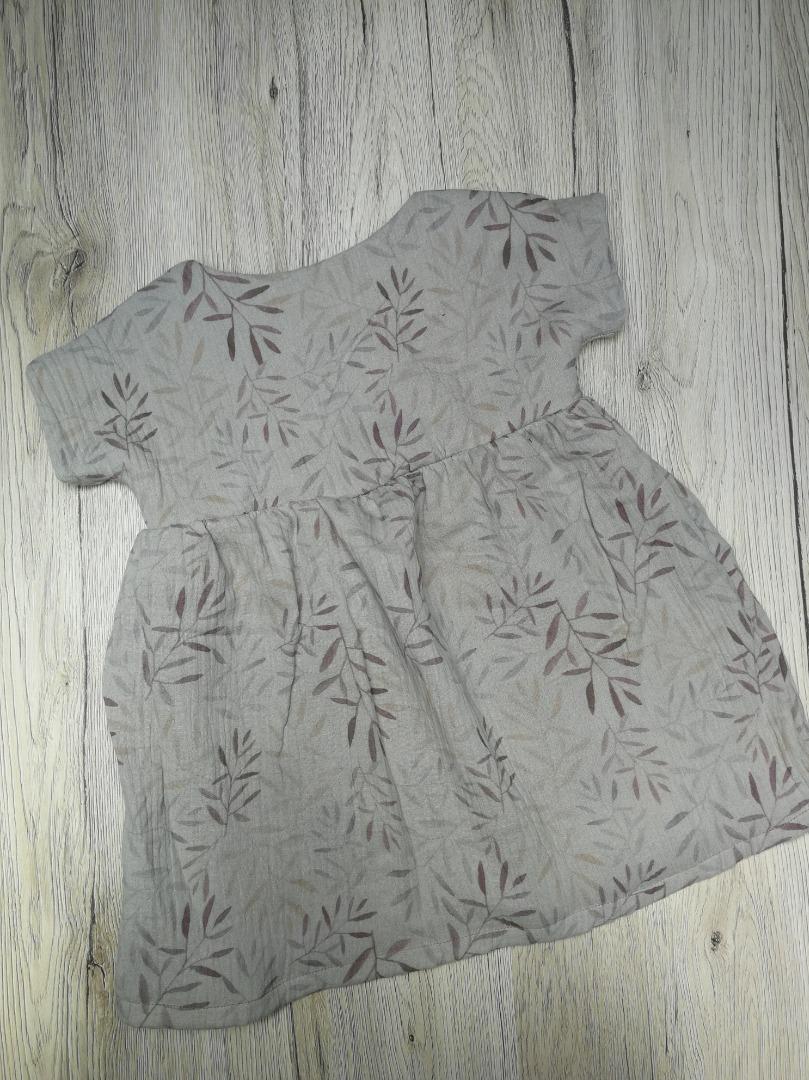 Sofortkauf Handmade Musselin Kleid Gr 74/80