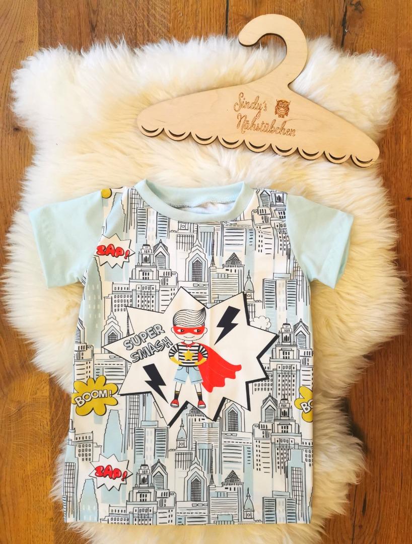 Sofortkauf Handmade Superheld Set aus T-Shirt