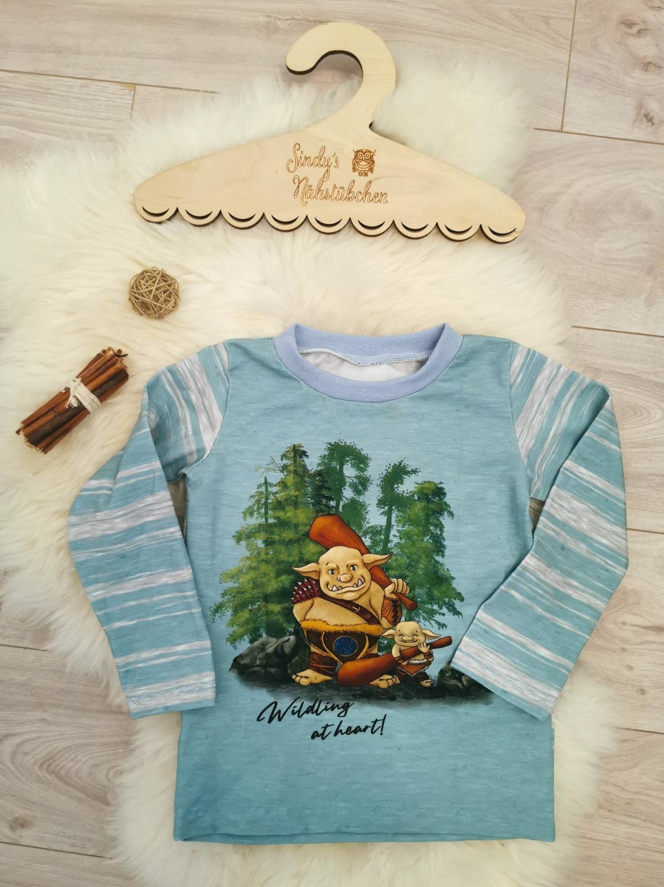 Sofortkauf Handmade Troll Langarmshirt Gr Sindys