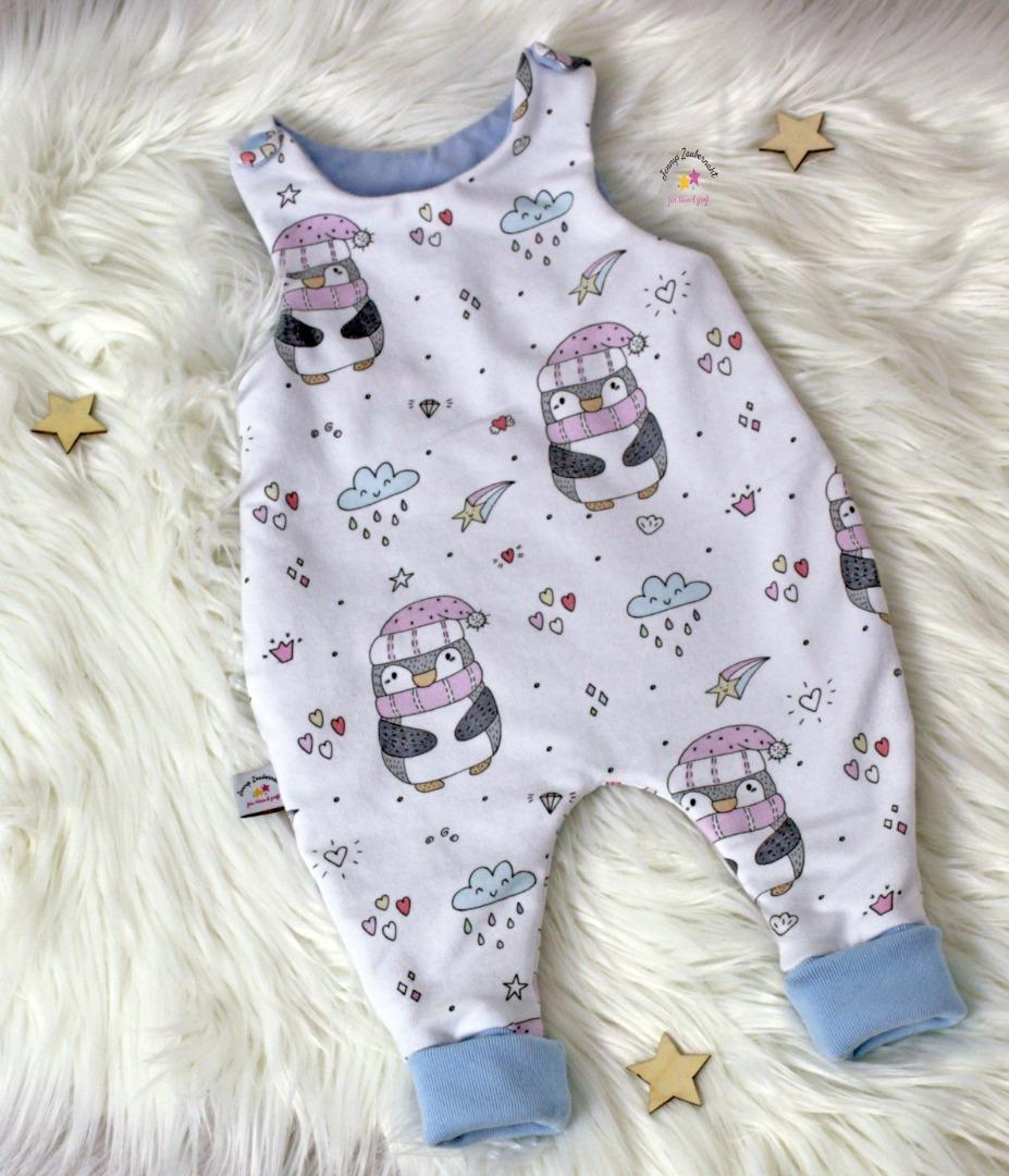Sofortkauf Handmade Babyset Pinguine Gr 56