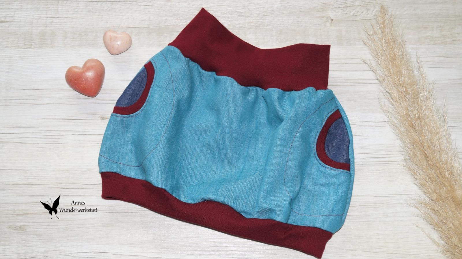 Sofortkauf Handmade Ballonrock Jeans Gr von