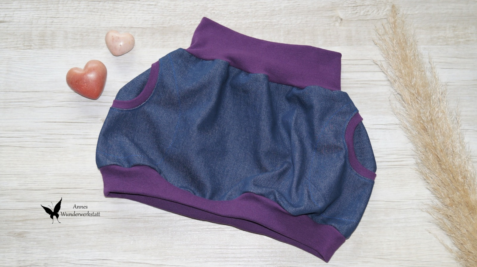 Sofortkauf Handmade Ballonrock Jeans Gr 116