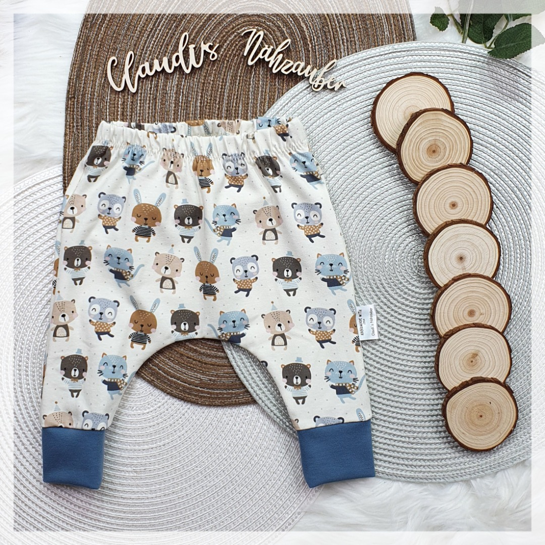 Sofortkauf Handmade Lieblingsfreunde SlimHarem-Pants Gr 50/56