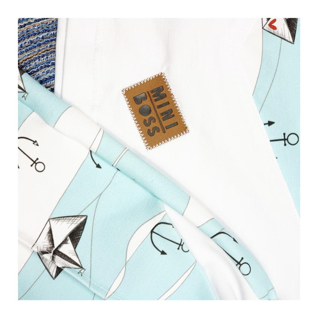 Sofortkauf Handmade BOOTE Short-Louie Shirt Mogli