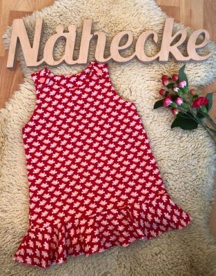 Sofortkauf Handmade Trägerkleid mit Vögelchen Gr