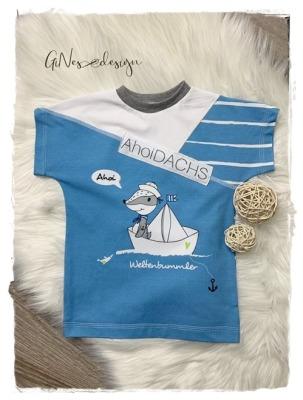 Sofortkauf Handmade T-Shirt Ahoi Gr T-Shirt