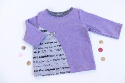 Sofortkauf Handmade Sweatshirt Lila Gr von