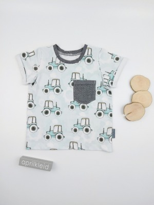 Sofortkauf Handmade Shirt Traktorfan Gr 74/80