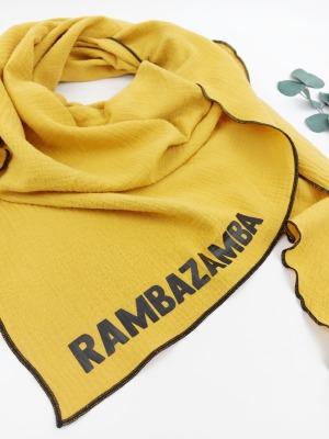 Sofortkauf Handmade Musselintuch Rambazamba Gr für