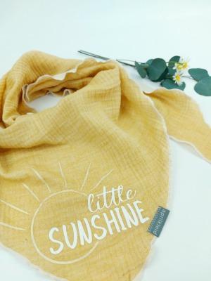 Sofortkauf Handmade Musselintuch little Sunshine Gr