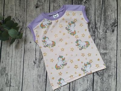 Sofortkauf Handmade Shirt Einhorn Gr LauSa