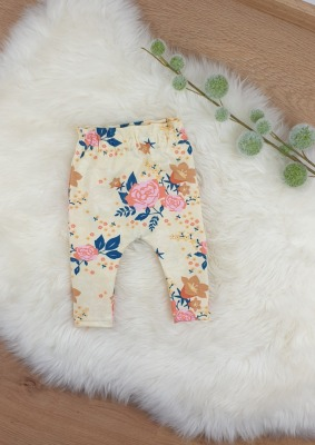 Sofortkauf Handmade Paperbag-Hose Blumen Gr 50/56