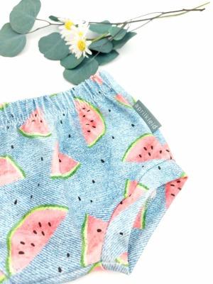 Sofortkauf Handmade Sommershort Jeans und Melone