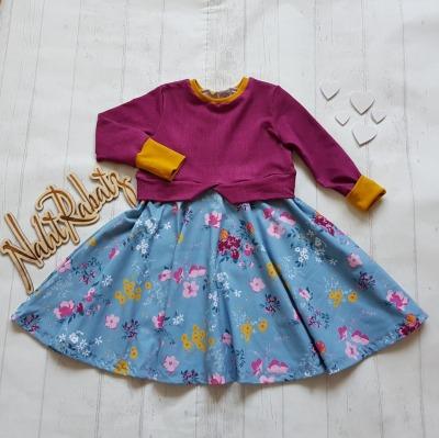 Sofortkauf Handmade Girlysweater Flowers Gr NahtRabatz