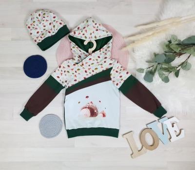 Sofortkauf Handmade Set Hoodie mit Wendemütze