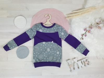 Sofortkauf Handmade Pullover Schneeflocken Gr Tweeschen