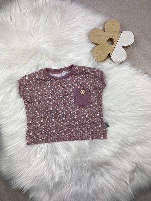 Bestellung Handmade Oversize-Shirt aus Biojersey woodrose
