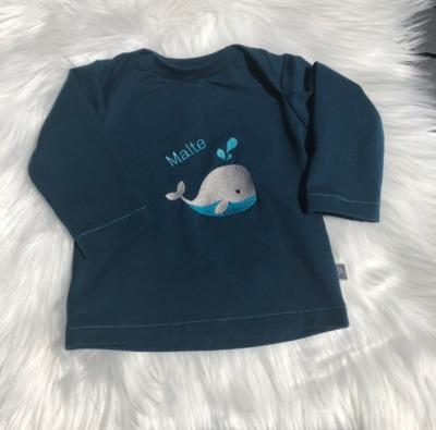 Bestellung Handmade Basic Shirt aus Biojersey
