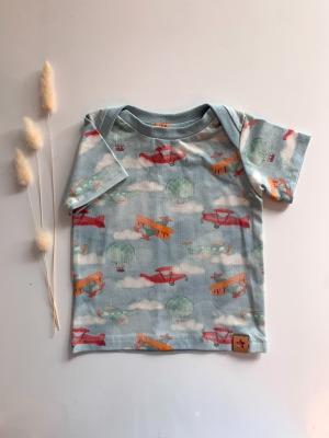 Sofortkauf Handmade Flieger T-Shirt Gr Genäht