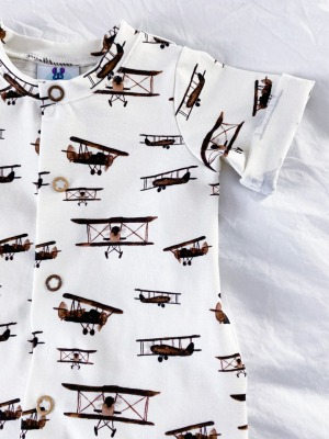 Bestellung Handmade Sommer-Onepiece Wale Gr Gr