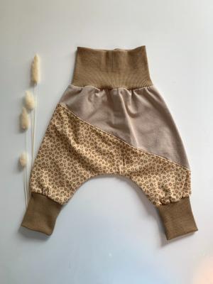 Sofortkauf Handmade Beiger Leopard Pumphose Gr