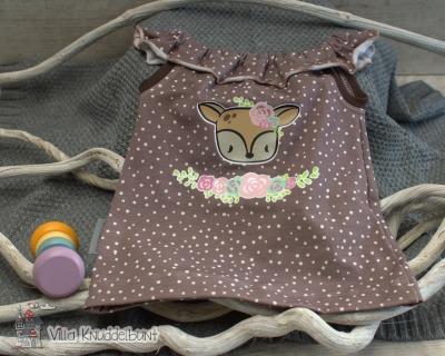 Sofortkauf Handmade Sommertop für Mädchen Rehliebe