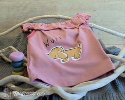 Sofortkauf Handmade Sommertop für Mädchen Wuff