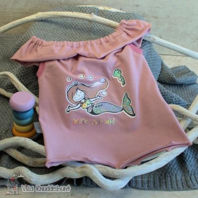Sofortkauf Handmade Sommertop für Mädchen Meerjungfrau