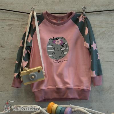 Sofortkauf Handmade Raglanpullover für Mädchen Kleine