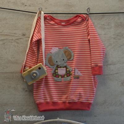 Sofortkauf Handmade Tunika für Mädchen Elefantine