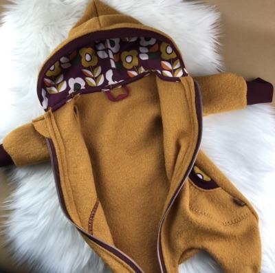 Bestellung Handmade Wollwalkanzug Gr 50-86 Handmade