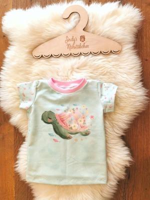 Sofortkauf Handmade Set Schildkröte Sonnenhut T-Shirt