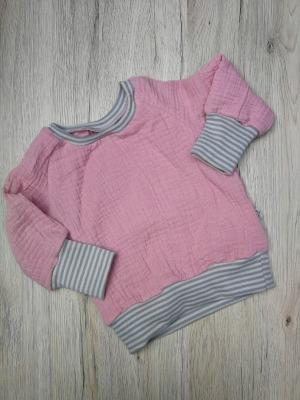 Sofortkauf Musselin Langarm Shirt Gr 62/68