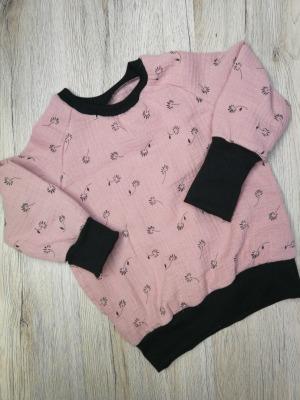Sofortkauf Musselin Langarm Shirt Gr 86/92