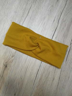 Sofortkauf handmade Bandeau Rippjersey Haarband/Stirnband KU