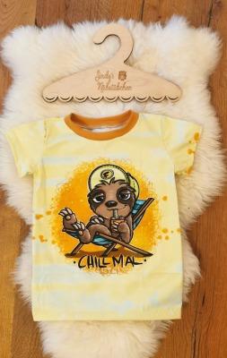 Sofortkauf Handmade Faultier T-Shirt Gr Sindys