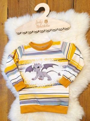Sofortkauf Handmade Drache Langarmshirt Gr Sindys