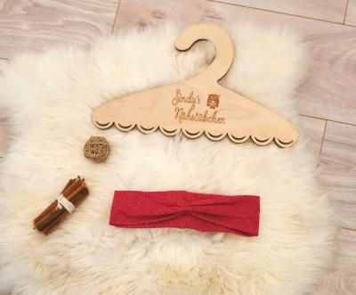Sofortkauf Handmade pink Stirnband KU 49/50