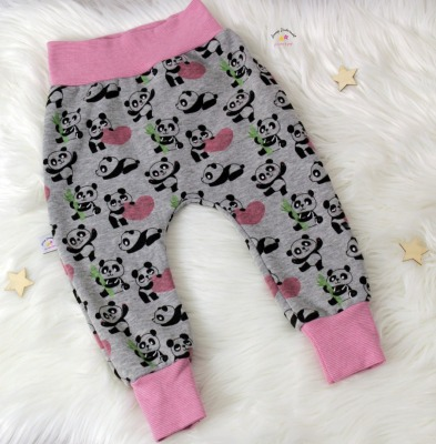 Sofortkauf Handmade Baggy Pants Pandas Gr