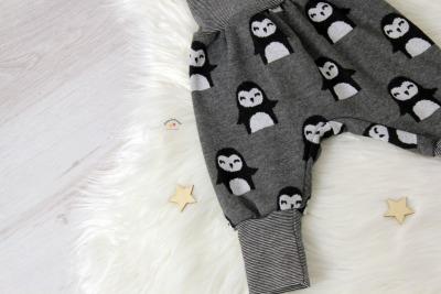 Sofortkauf Handmade Pumphose Pinguin Gr 62/68