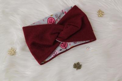 Sofortkauf Handmade Stirnband Kochwolle Beere KU