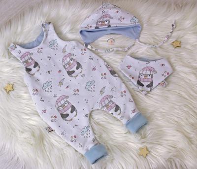 Sofortkauf Handmade Babyset Pinguine Gr von