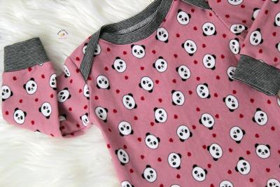 Sofortkauf Handmade Pullover Pandabären rosa Gr